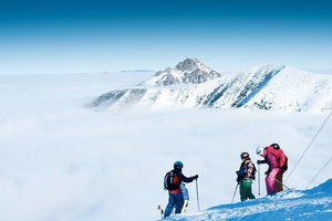 Ski-Freunde-Treffen