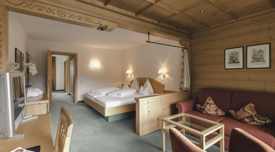 Suite 328 mit Balkon